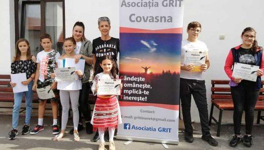 Românii din Covasna au sărbătorit Ziua Limbii Române cu prezentări de carte și un concurs literar pentru copii
